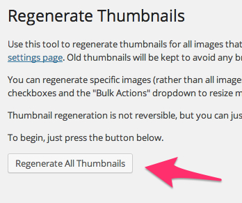 Regenerate Thumbnails そふぁねブログ WordPress 2